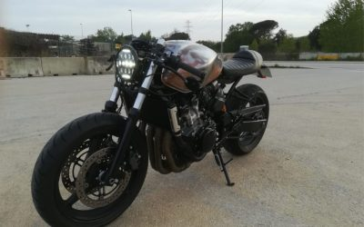 Proyecto Hornet Caferacer